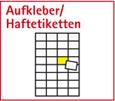 Aufkleber/Haftetikette